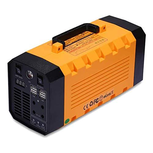 LIUDOU Generador Solar Portátil 500W 288WH Power Station Battery Battery Backup Power Fuente De Alimentación Cobrada por Solar/CA Outlet/Car para CPAP Camping Portátil Camping