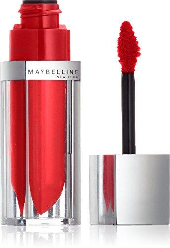 Maybelline New York Make-Up Lipgloss Color Sensational Elixir Signature Scarlet / Kräftiges Rot für farbintensive und gepflegte Lippen, 1 x 5 ml