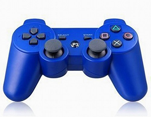 Totalmente inalámbrico Bluetooth remoto vibración doble mando de PS3 para PS3