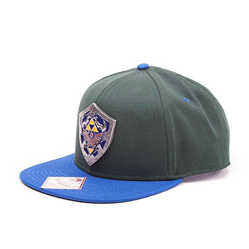The Legend of Zelda - Casquette de Baseball - Homme Vert Grün, Blau