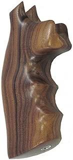 Hogue 49300 Wood Grips PAU Ferro, Colt Diamond Back D Frame