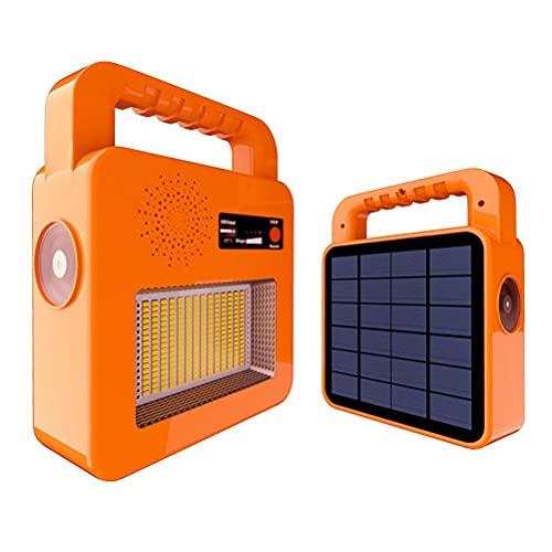 BBABBT Linternas de camping con función de altavoz Bluetooth, lámpara LED solar, interruptor de cinco modos para luz nocturna dormitorios o tienda de campaña al aire libre uso de viaje