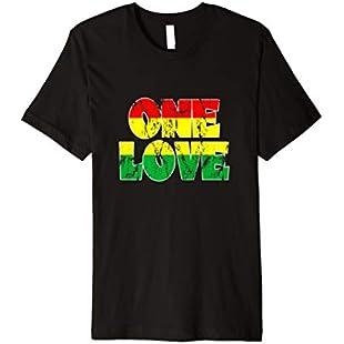 Customer reviews Reggae Clothing Men Women One Love Shirt:Firmwarerom