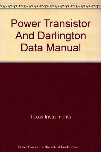 Power Transistor and Darlington Data Manual