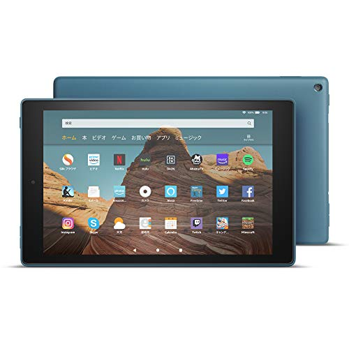 Fire HD 10 タブレット ブルー (10インチHDディスプレイ) 32GB + Kindle Unlimited(3か月分。以降自動更新)