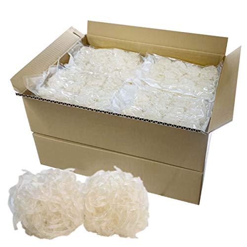 伊豆河童 ゼンヌードル 麺のみ 約192食分 (25g×384個) 業務用 まとめ買い向け 乾燥しらたき ゼンパスタ ダイエット こんにゃく麺