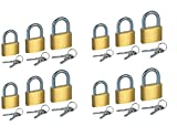 Best Luggage Locks - Fusine™ Pack of 12 - Premium Quality Small Review