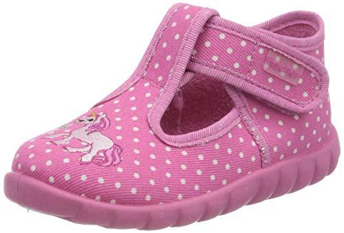Fischer Jungen Mädchen Nieke Hohe Hausschuhe, Pink (Pink 304), 23 EU