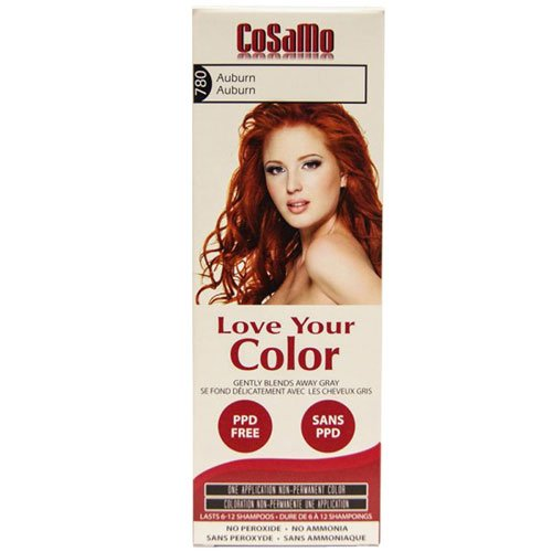 CoSaMo Love Your Color Hair Color 780 Auburn (Pack of 3)