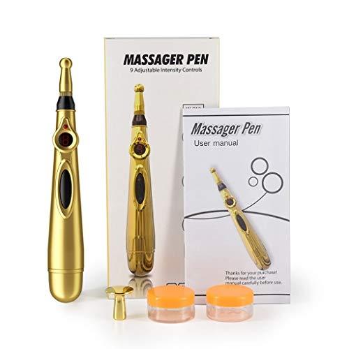 Bolígrafo de acupuntura electrónica, masajeador eléctrico, energía meridiana, masajeador pen, alivio, relax...