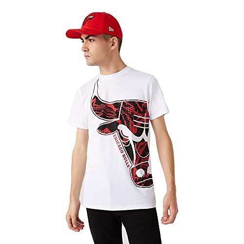 New Era Chicago Bulls NBA Oil Slick T-Shirt - L