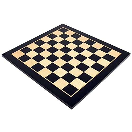 Nuevo chessex Tablero De Ajedrez De Madera Grande Solo 21.6x21.6in Tablero De Ajedrez Tamaño Tablero De Ajedrez De Torneo Profesional Juego De Regalo de ajedrez