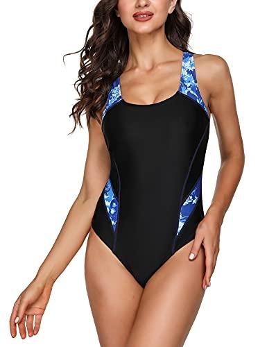 Costume Intero Donna Confortevole Costume da Bagno Intero Donna Swimwear Donna Costumi Interi da Bagno per Donna Swimsuit per Gli Allenamenti Quotidian