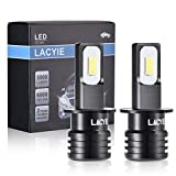 (2Pcs) LED Antiniebla H3, Lacyie Luces de...