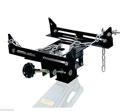 9TRADING 1100 lbs Auto Transmission Jack Adapter Capacity Transform Automotive Floor Jack