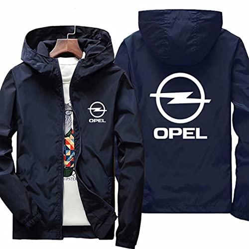 RLJqwad Sudadera con Capucha para Hombre para La Chaqueta De Impresión De Opel Tops De Deportes Casuales Uniforme De Béisbol De Manga Larga Adecuado para Verano Y Primavera