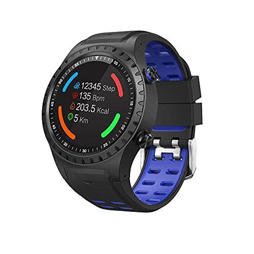 Panduo YLB Smart Watch 1 Tarjeta de 3 Pulgadas Deportes Smart Watch GPS Posicionamiento al Aire Libre Tiempo al Aire Libre Altitude Compass Waterproof Sports Watch para Android y iOS (Color : C)