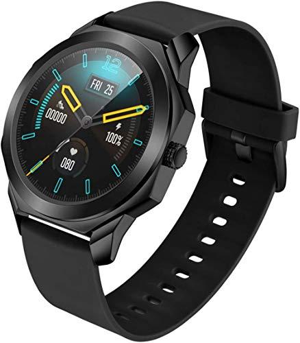 DHTOMC Relojes inteligentes multifunción para hombres y mujeres, llamadas Bluetooth, relojes deportivos impermeables, múltiples recolección de datos deportivos