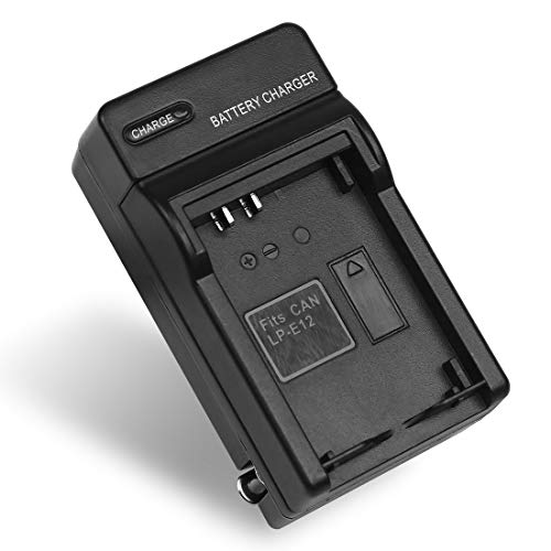 LP-E12 Battery Charger LPE12 LC-E12 for Canon EOS 100D, Kiss X7, M, M2, M10, M50, M100, Rebel SL1, PowerShot SX70 HS Cameras and More