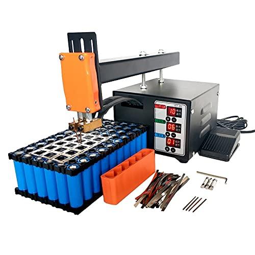 CLJ-LJ BATERÍA SPOT SLIPER 3KW ALTA POTENCIA 18650 Máquina de soldadura por puntos Paquete de baterías de litio Paquete de níquel Soldadura Pulso de precisión Soldador (Voltage : 220V)