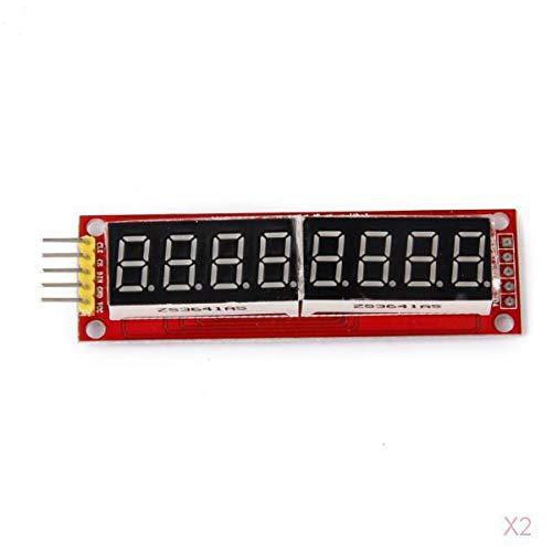 H HILABEE Tubo Nixie MAX7219 8 Dígitos LED Módulo De