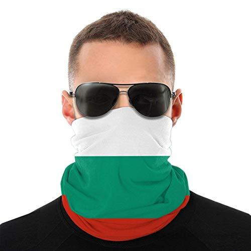 Nother Máscara facial con diseño de bandera de Bulgarien para hombre al aire libre, multifunción, para la cabeza, resistente al viento