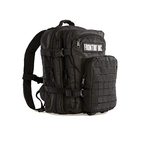 Frontino Inc. 20L Tactical Backpack Made of Sailcloth and Equipped with a hydratation Component -...