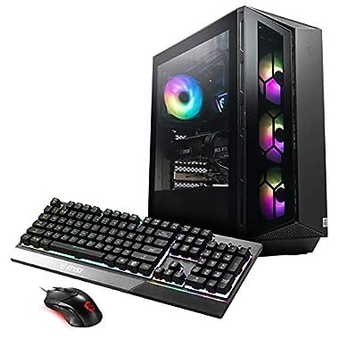MSI Aegis RS (Tower) Gaming Desktop, Intel Core i7-11700K, GeForce RTX 3070, 16GB Memory, 1TB SSD, WiFi 6E, Liquid…