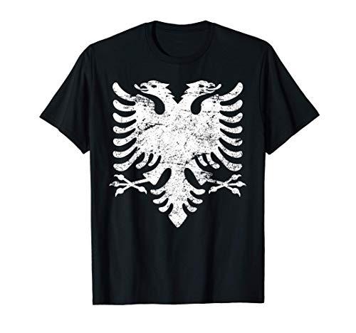 ALBANIEN Adler Flagge | Damen Herren Kinder ALBANIA T-Shirt