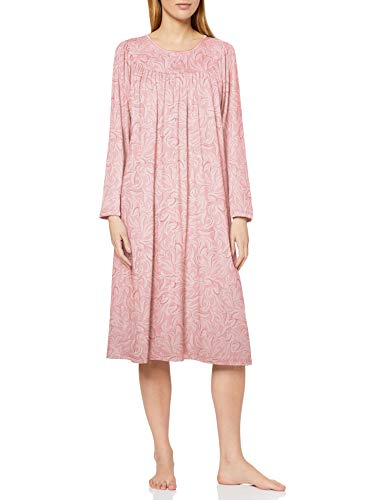 CALIDA Damen Soft Cotton Nachthemd, Seashell pink, L