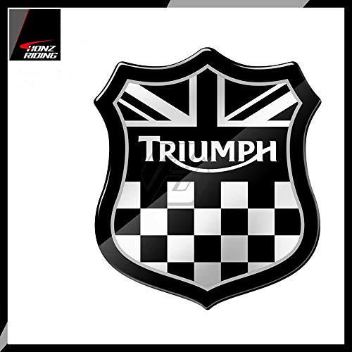 For Triumph 675 765 Tiger 800 900 1200 Street Twin Speed Triple RS 3D Motorcycle Union Jack Racing Sticker