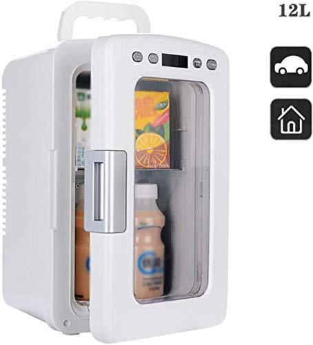 XUHRA Enfriar Mini 10L Inicio Alquiler de Temperamento Poco de Calor Regulable refrigerador compresor portátil frigorífico congelador 12V 220V