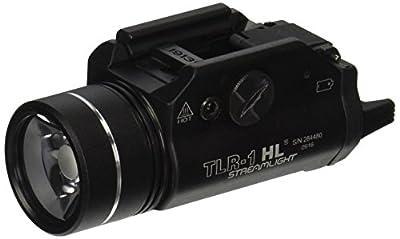 Streamlight 69110 TLR-1 Weapon Mount Tactical Flashlight Light - 300 Lumens