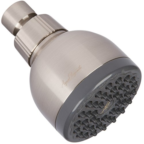 High Pressure Showerhead Brushed Nickel - Best Wall Mount, Bathroom, RV Shower Head For Low Flow Showers, 1.8 GPM - Brushed Nickel & California Certified