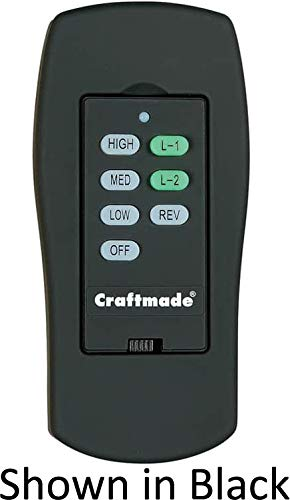 Craftmade CXL-ICS-W, Wall Control with Clamshell Remote, 3...