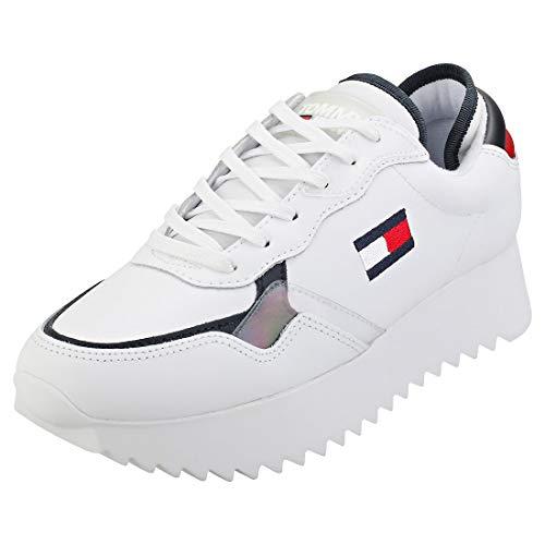 Tommy Hilfiger Damen Imogen 2a Sneaker, Beige (RWB 0k5), 41 EU