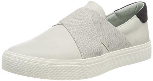 ESPRIT Damen Semmy Slip on Sneaker, Grau (Pastel Grey), 40 EU