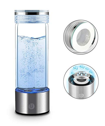 XXGJK 500ML Tragbare Wasserstoff Generator Wasser Filter Ionisator Reine H2 PEM Reiche Wasserstoff Alkalische Flasche Elektrolyse Trinken Wasserstoff