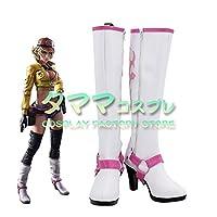 シドニー オールム Cidney Aurum FFXV FF15 ファイナルファンタジーXV コスプレ靴 コスプレブーツ cosplay オーダーサイズ/スタイル 製作可能 【タママ】(24cm)