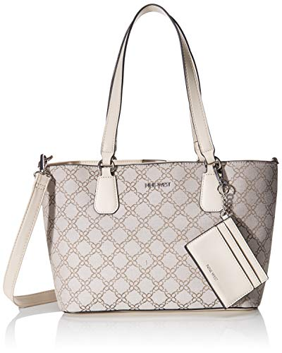 Nine West Marcelie Small Trap Tote Nude/Milk One Size