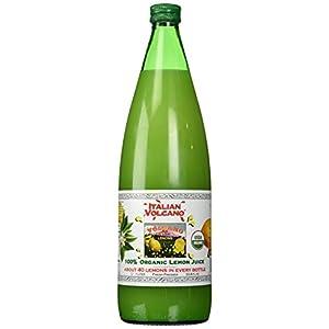 Volcano Bursts Organic Italian Lemon Juice, 33.8 oz |