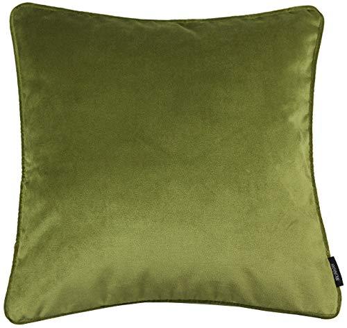 McAlister Textiles Matter Samt | Kissenbezug für Sofakissen in Lindgrün | 40 x 40cm | erhältlich in 25 Farben |...