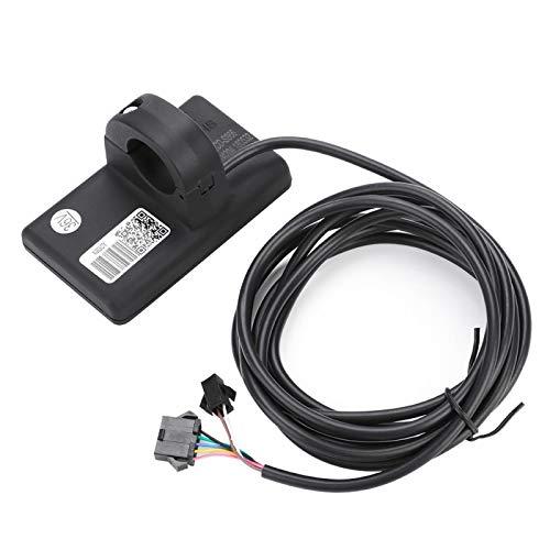 DAUERHAFT Accesorio de Control, luz de Fondo, Duradera, Bicicleta de montaña, medidor de Controlador de Instrumentos LCD, para Bicicletas eléctricas((36V/48V 250W/350W))