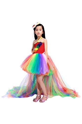 Meisjes prinses jurk bloemenmeisjes jurk kinderen bruiloft jurk 29 kleuren maat 110-160.
