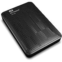 "Western Digital My Passport AV-TV 1TB - Almacenamiento para el televisor (1000 GB, USB 2.0, USB 3.0, 2.5"", Alámbrico, 5000 Mbit/s), Color Negro"