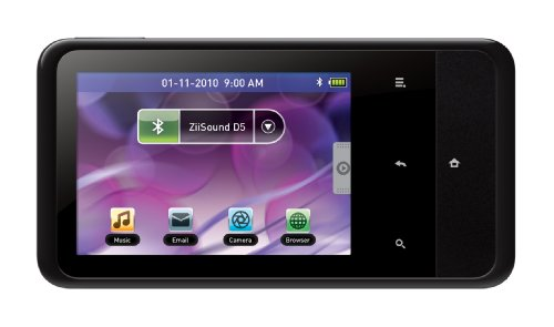 Creative ZEN Touch 2 8 GB Android Based MP3 and Video Player with GPS (Black)