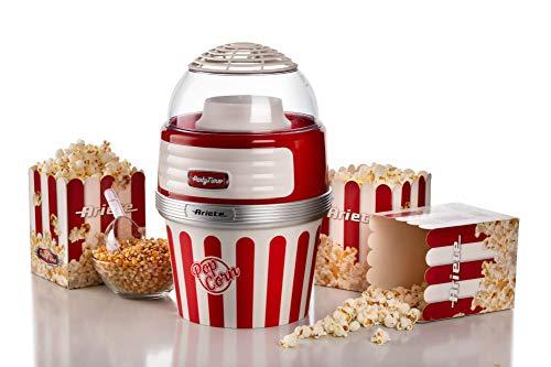 Ariete Popcorn XL Macchina per Pop Corn, 1100 W, Rosso