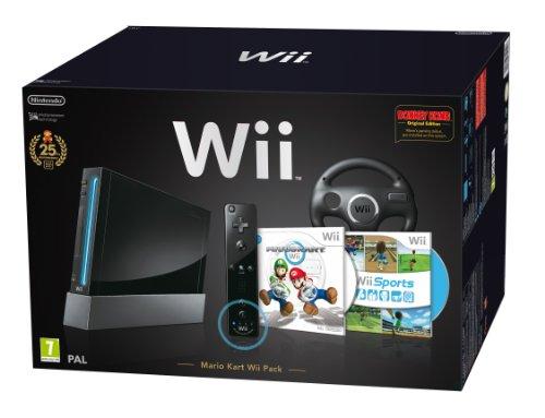 Nintendo Wii + Mario Kart + Wii Sport