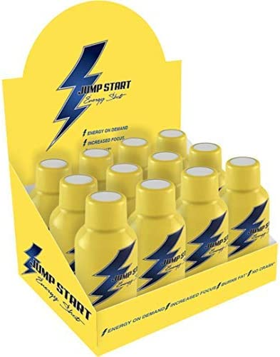 Jump Start Energy Shot All items in the store - Keto Infused and Vitamins with Am Year-end gift Drink