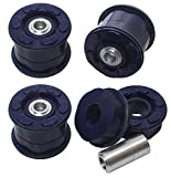 AUTOACER - 4 Piece Kit Rear Axle Subframe Bushings in Polyurethane PU - Compatible with BMW E53 X5 2000 2001 2002 2003 2004 2005 2006